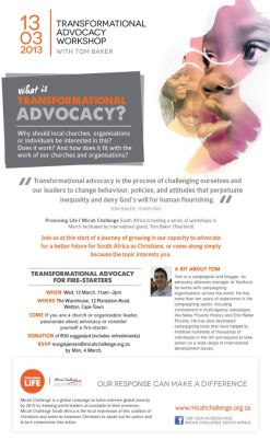 What is Transformational Advocacy?